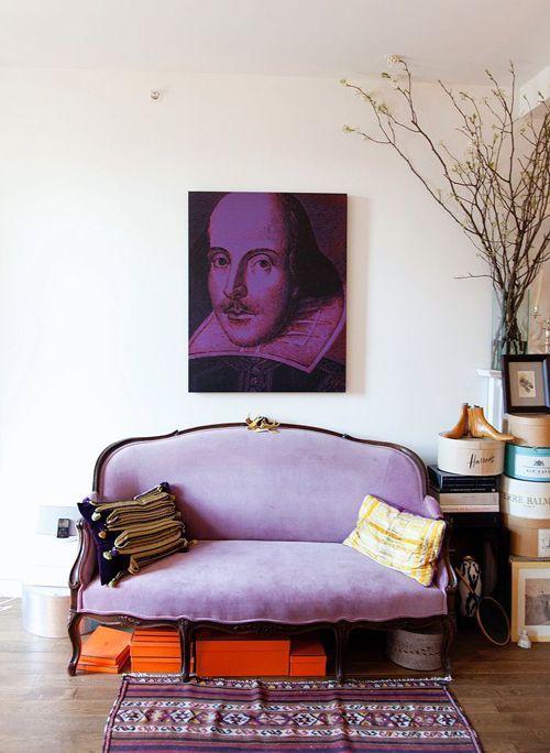 Pantone_ultra violet_deco home_sofa